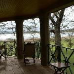 Balcony in Dodo's tower