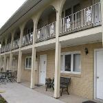 East wing of the motel