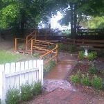 multilevel courtyard