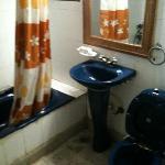 Bathroom, no hot water!