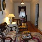 Hallway to guest rooms