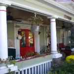 The Red Hook Country Inn Front Porch