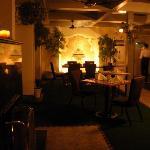 Dinning Area: Heated terrace