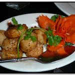 Black Pepper Scallops $26.50