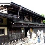"""Takayama, ein Ort in den""""Japanischen Alpen"""", mit - für japanische Verhältnisse - gut erhaltener"""