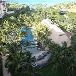 The nice lagoon and pool