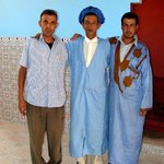 3 wonderful guys in M'Hamid (check: 'Zbar travel' and hotel 'El Ghizlaine')