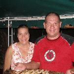 Farieda and Joseph, hospitable hosts