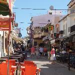 Main street in Alvor