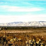 'Dragoon Mountains.View from our balcony.Tombstone,Az