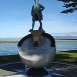 James Cook in Gisborne.
