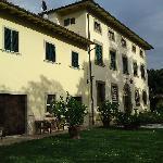 the villa itself