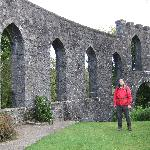 "Phil,inside McCaig""s Tower,Oban,Scotland."