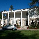 the front of the manor