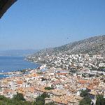 View of Senj from the castle