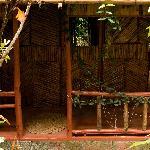 Our cottage front door