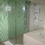 Large Shower for suite