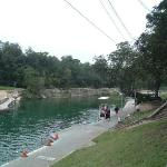 Barton Springs at Zilker park