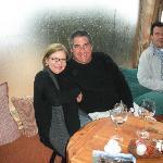 con Alberto en el Refugio, Arelauquen