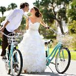 Sarah & Brent enjoy their wedding at the Ocean Lodge in St. Simons Island, GA