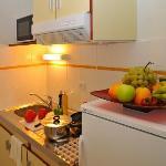 cuisine d'un appartement T2