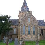 Nearby Dornoch Cathedral