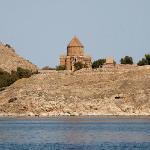 Akdamar Island from the boat