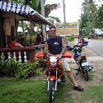 HAVING A MOTORBIKE TRIP