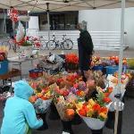 Vendor at Saturday market