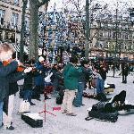Street Musicians - Three Blocks from Hotel