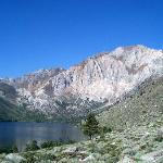 summer view of Convict Lake