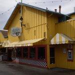 Big Yellow Building on the Wharf