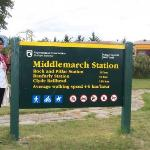 Still in Day 6 - In Middlemarch, the last leg of our Taieri Gorge train journey in the Otago Pen