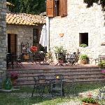 Tasting area at PoggioAntinora