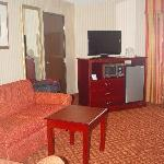 """HD"" TV, Refridge & Microwave"