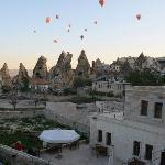 Heißluftballone über Göreme