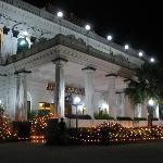 The entrance during Tihar festival