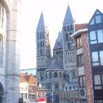 Tournai - beffroi+Catedral de Notre Dame