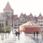 Tournai-Eglise St Quentin,Grote Markt, Hainaut