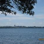 Madison from across lake Mendota