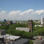 View from room 1118 - Yale
