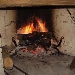 il calore di un camino... che cucina