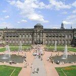The Zwinger in Dresden