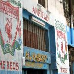 Liverpool supporters club/bar