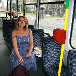 Easy to get around with tram by hotel