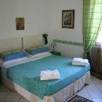 stanza verde, molto romantica