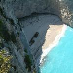 The Shipwreck Beach from the viewing platform