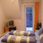 Bedroom with door to Balcony.