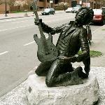 Jimi Hendrix statue, Seattle