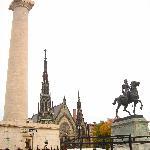 Washinton Monument in Baltimore
